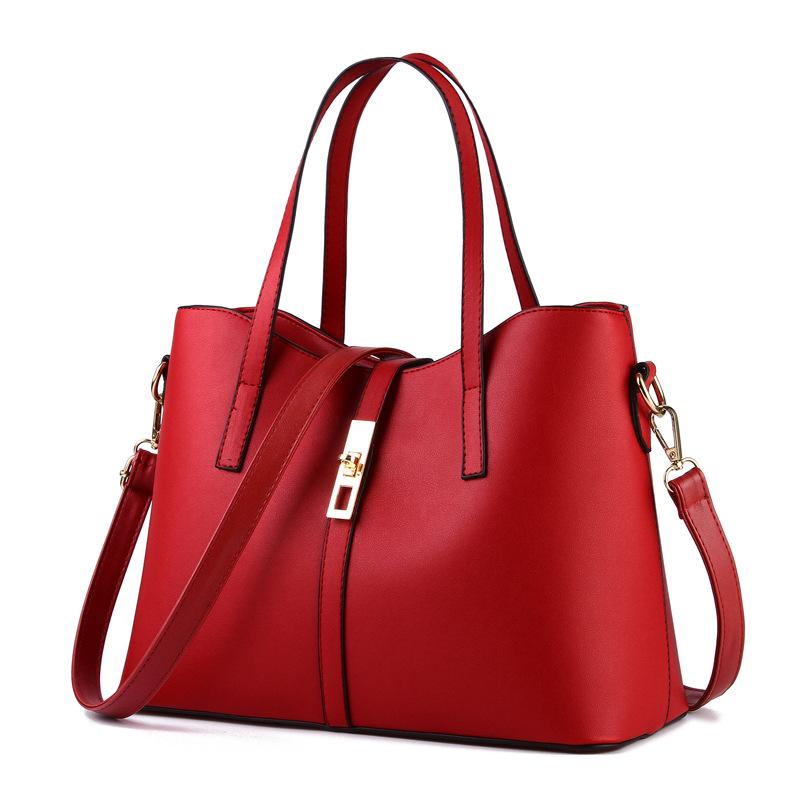 Women PU Leather Crocodile Shoulder Bag Embossed Handbag Solid Messenger Bags For Ladies Luxury Tote Crossbody Purses Leather(China (Mainland))