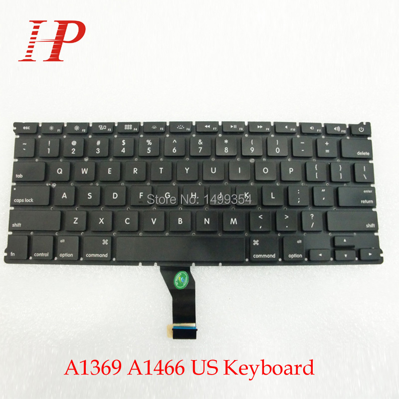 "100% Tested New For Macbook Air 13"" A1369 A1466 United Stats Keyboard US Keyboard For 2011 2012 2013 2014(China (Mainland))"