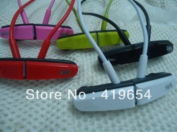 2GB Plastic Wireless Sport MP3 Player Digital Music Player 10PCS Free Shipping to All Over The World(China (Mainland))