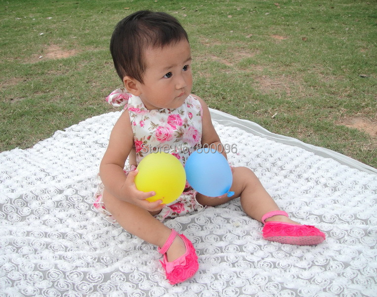 victoria flower Sunsuit or Bubble Romper ruffles bloomer with halter ties baby boutique diaper suit KP-BUBR001<br>