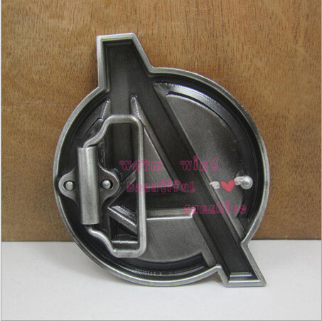 New 1PC Free shopping Hot silver Fashion Movie Avengers Super Heroes Mens Vintage Western Belt Buckle