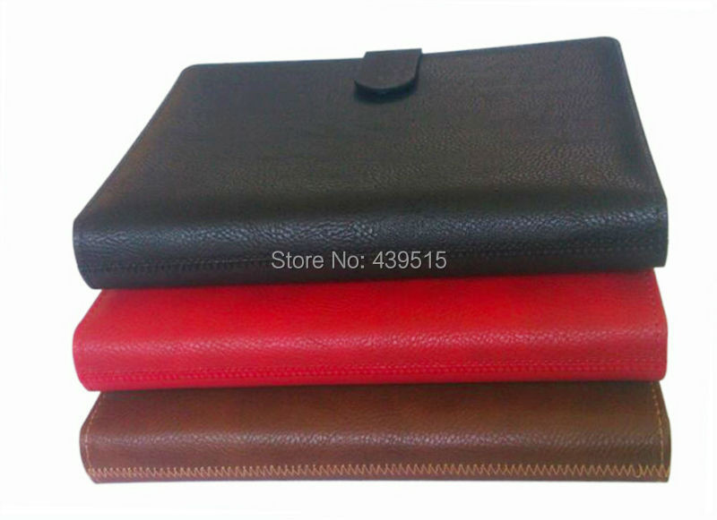 Ежедневник GY/GS A5 leather ring binder for Agenda organizer and notebook GL-SO-RBF07A5