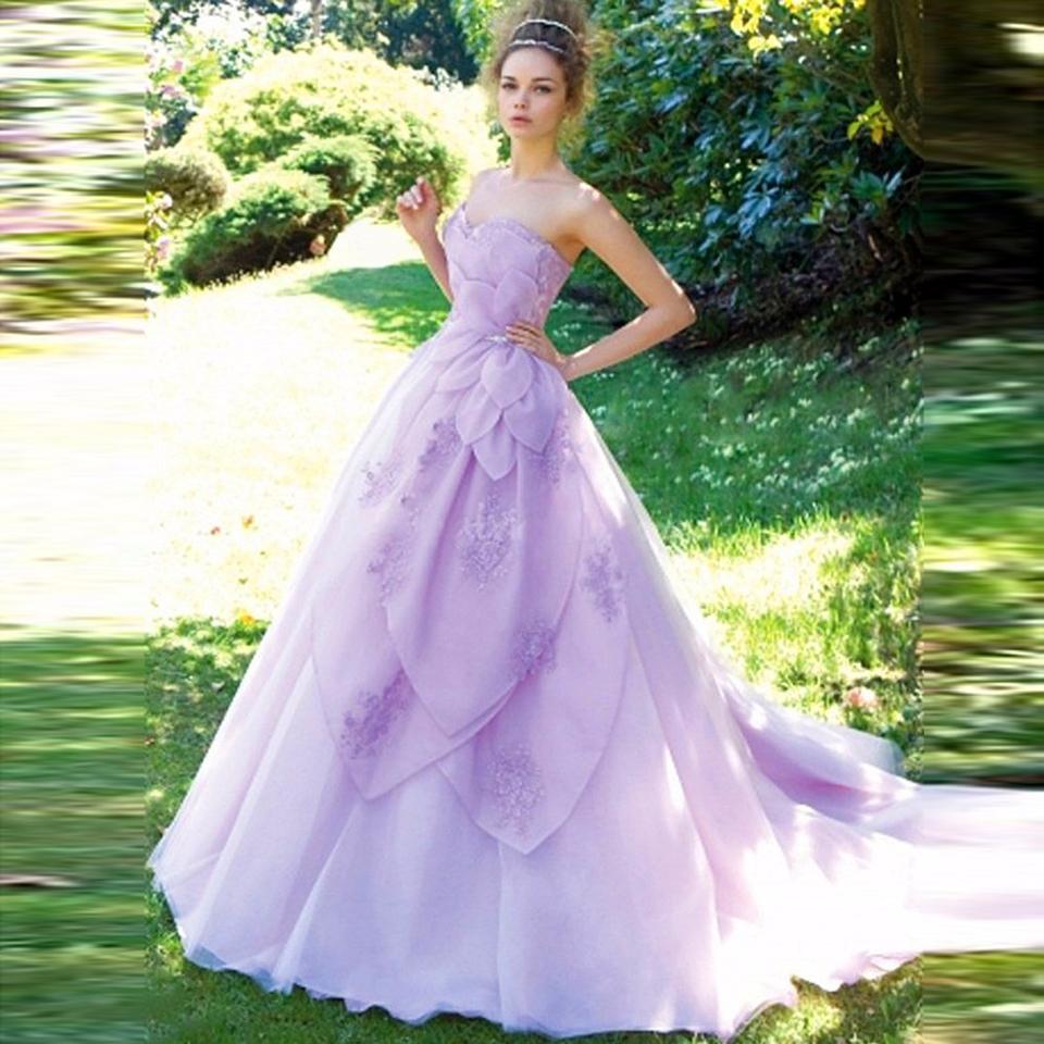 Magnífico Vestido De Novia De Colores Ideas Ornamento Elaboración ...