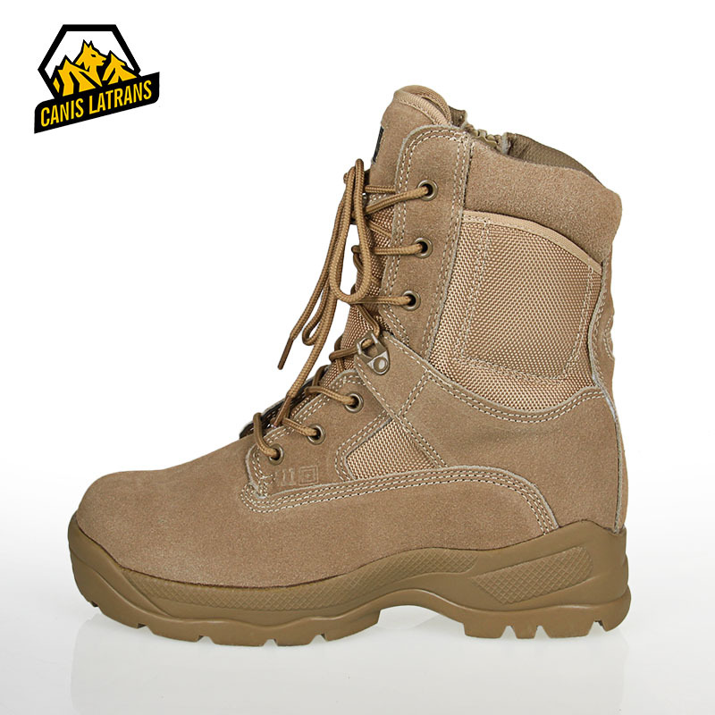 Real Genuine Leather Men Outdoor Desest Hunting Boots Military Combat Tactical Breathable Waterproof Shoes Summer/winter 2015<br><br>Aliexpress