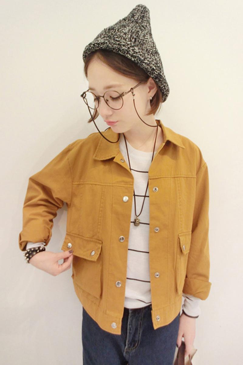 2015 Fashion Women Jackets Autumn Vintage Slim Waist Harajuku Coat Female Outerwear Casual Womens Winter Jackets and Coats DE042(China (Mainland))