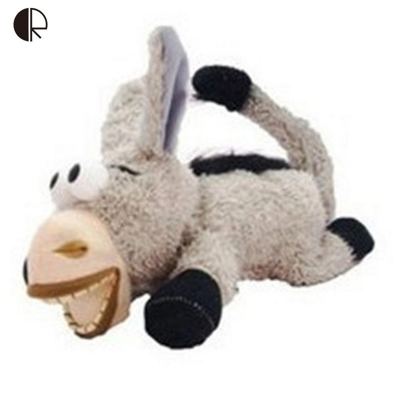 Electronic Pet Donkey Kids Toys Intelligent Voice Control Ha Ha Laugh Plush Donkey Toys Roll Wallow Funny Donkey Joke Toy HT199(China (Mainland))