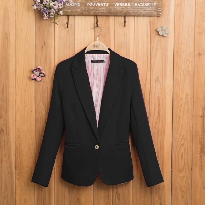 NEW blazer women suit blazer foldable brand jacket made of cotton & spandex with lining Vogue refresh blazers(China (Mainland))