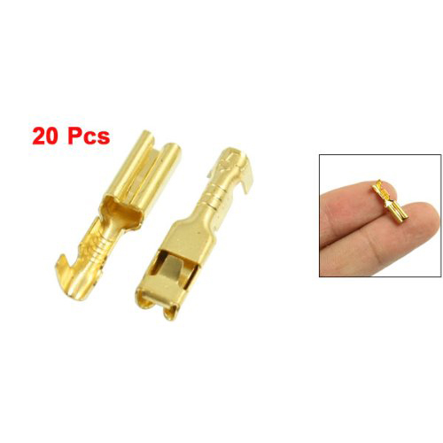 COFA 20 Pcs Female Spade Cable Wire Terminals for 2.8mm Connectors<br><br>Aliexpress
