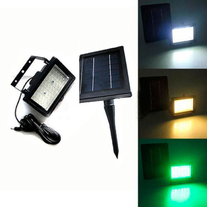Led Flood Lights For Backyard : Solar Power 45 LED Pathway Yard Spot Flood Light Lawn Lamp Outdoor