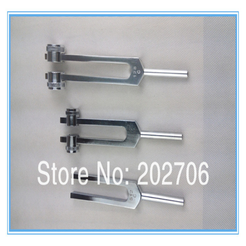 High quality nervous system testing tuning fork medical tuning fork can choose 128Hz or 256Hz or 512Hz