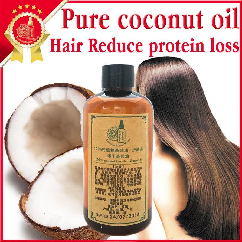 Hair care Free shopping Massage essential oil 100%pure plant base oil coconut oil 250ml Not solidified(China (Mainland))