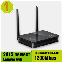 New Store Promotion 100% Original Lenovo Wi fi Router Dual-band 2.4GHz/5GHz Maximum 1200Mbps Support Wifi 802.11 N/B/G/AC