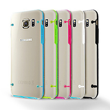 Glow in Dark Luxury Luminous Case For Samsung Galaxy S6 G9200 Soft TPU Case Transparent Clear Back Cover For Galaxy S6 Gold Red(China (Mainland))