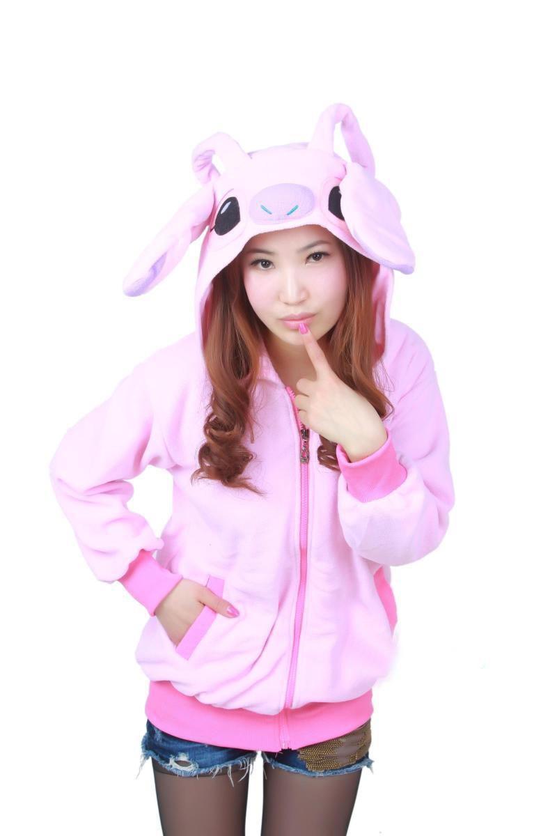 Winter Spring dinosaur tiger pig cat pikachu Hoodie Pokemon Animal hoody Sweatshirt Cosplay Costume(China (Mainland))