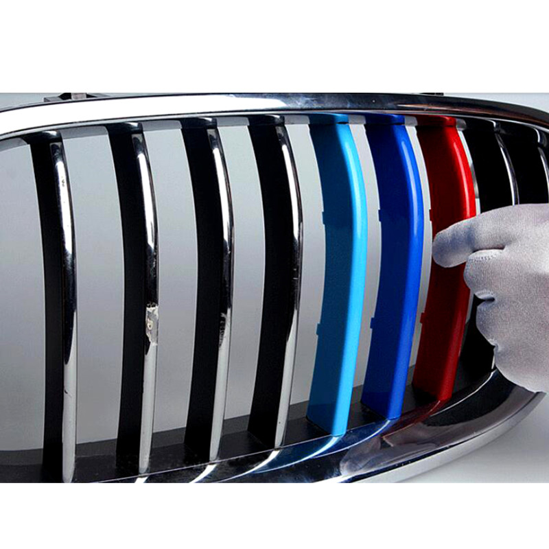 Car Styling!For BMW X5 E70 2009-2013 Plastic Three Color Middle Center Grill Grille 3pcs<br><br>Aliexpress