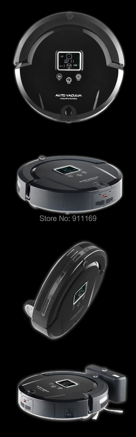 AMTIDY A320 Most Advanced Robot Vacuum Cleaner,Multifunction(Sweep,Vacuum,Mop,Sterilize),Schedule,2 Side Brush,Self Recharge(China (Mainland))