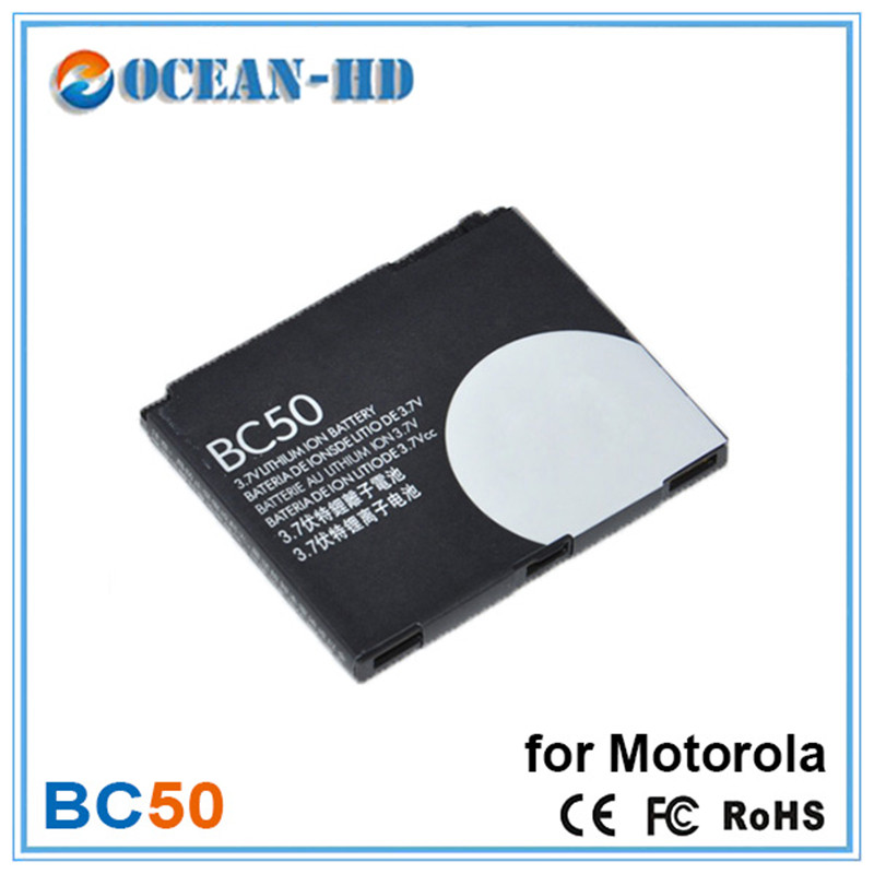 BC50 750mah Capacity Replacement Lithium Mobile Phone Battery For Motorola Z1 Z3 E8 L2 L6 L6i L6g L7 L7C K1 K2 R1 High Quality(China (Mainland))