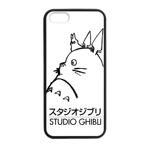 My Neighbor Totoro Studio Ghibli Case for iPhone 5/5s Discount Phone Cases(China (Mainland))