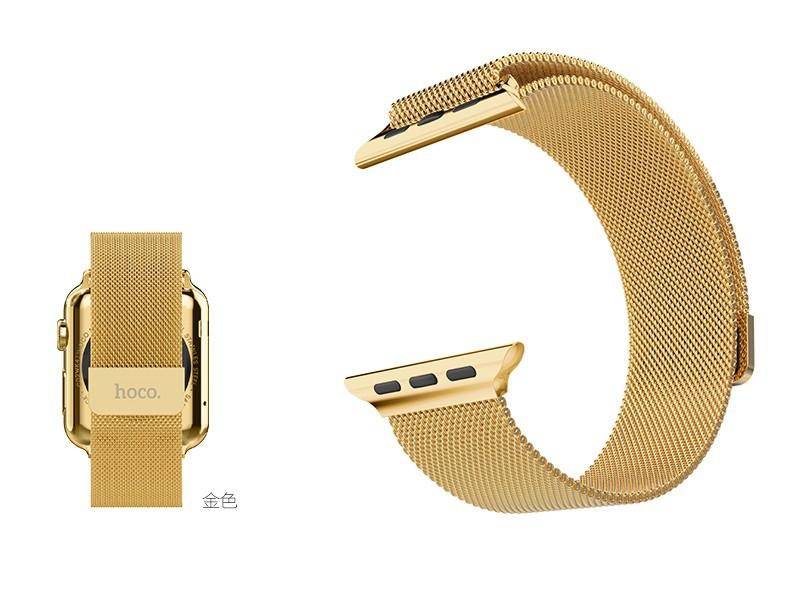 Оптовая НОСО Миланской Петлю Ремешка Для Apple Наблюдать 42 мм 38 мм Сделано Из Нержавеющей Стали 316L С Регулируемое Магнитное закрытие