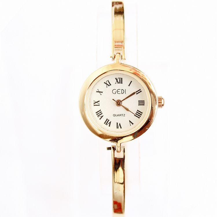 Stylish Famous Brand Name GEDI Womens Ladies Fashion Bracelet watch Wristwatch Digital Elegant Gift Free shipping