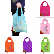 Eco Storage Handbag Strawberry Foldable Shopping Bags Beautiful Reusable BagHigh Quality Hot Selling(China (Mainland))
