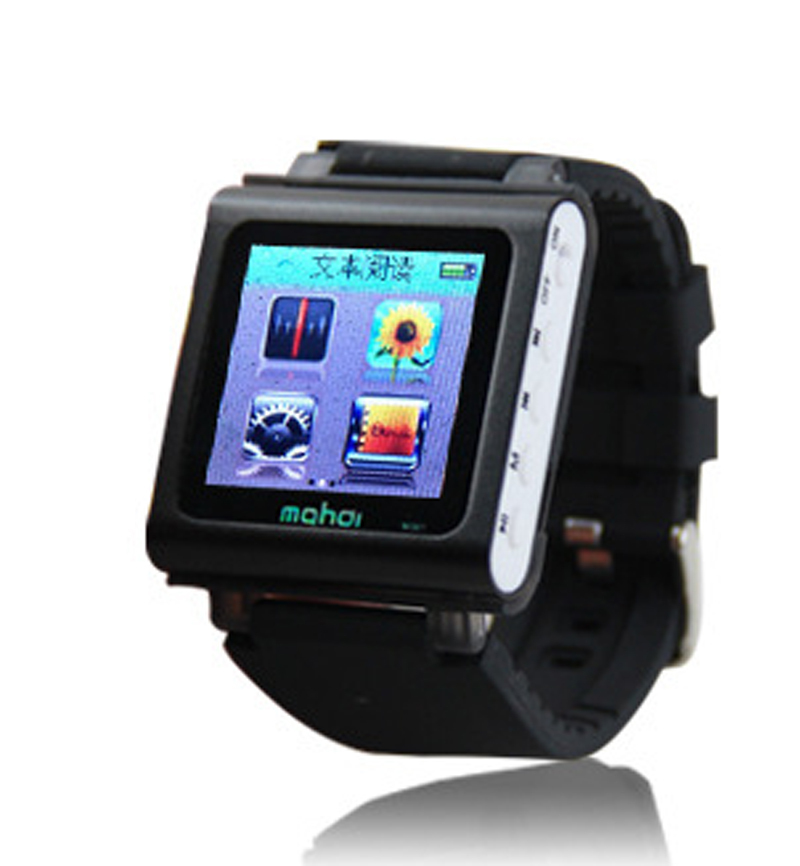 2015 MINI Sport Clip Multifunction Watch MP4 Music Player Video Player/8G/3D Pedometer/Voice Recorder/E-Book Reading/FM Radio(China (Mainland))