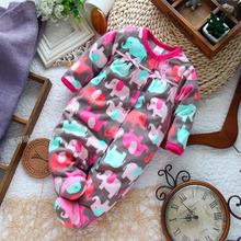 Similar Carters Newborn Clothes baby romper long-sleeve micro-polar fleece jumpsuit newborn baby girl costume for spring autumn(China (Mainland))