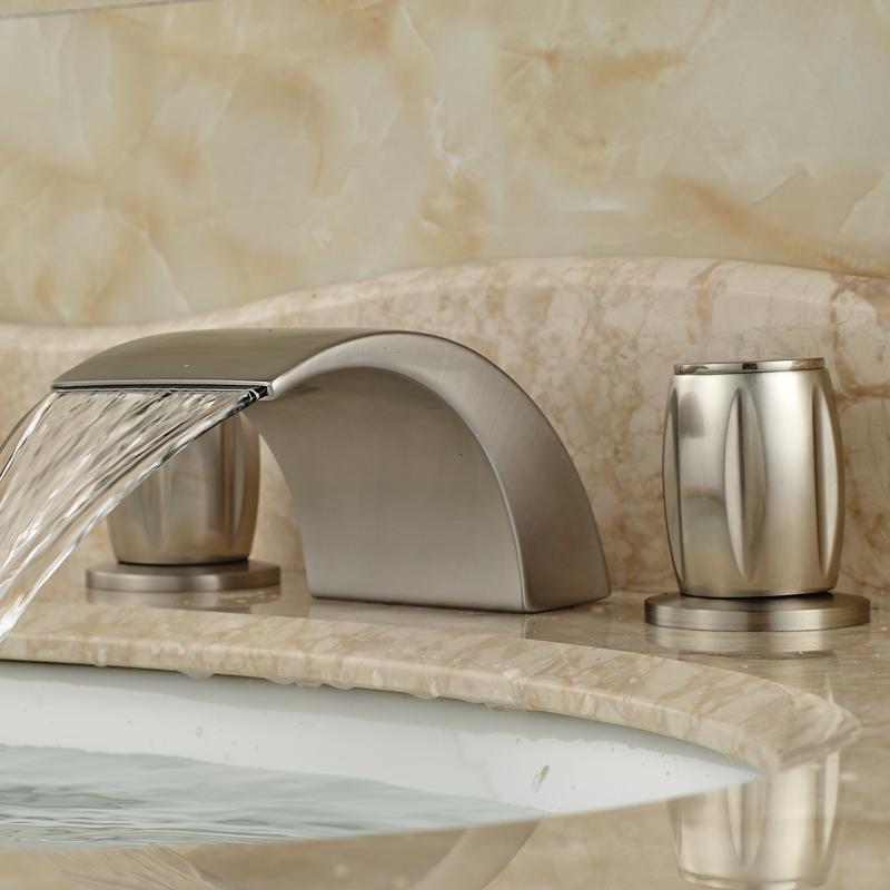 Acquista all 39 ingrosso online 3 fori rubinetto del bagno da grossisti 3 fori rubinetto del bagno - Cambiare rubinetto bagno ...