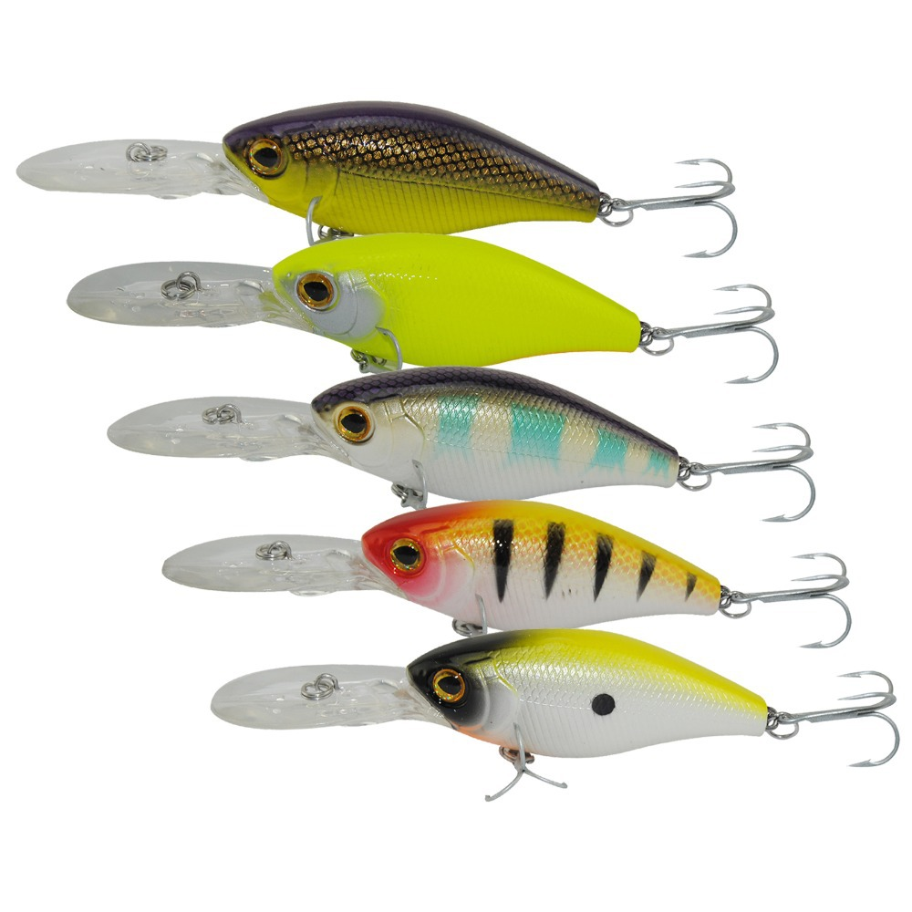 Miga Tug 110mm 20g Crankbait Top Quality Fishing Lures Fishing Tackle 5 color for Choice Minnow fishing bait Hook Soft Bait(China (Mainland))