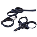 Free Shipping Pet Jean Harness Adjustable Dog Pet Leash Control Restraint Lead Puppy Running Playing Outside