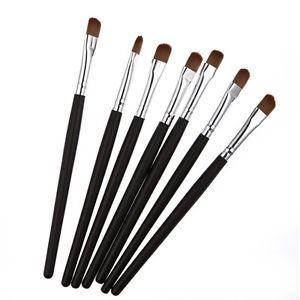 Fashion 1pc Pro Mini Cosmetic Makeup Eye Shadow Brush Black New(China (Mainland))