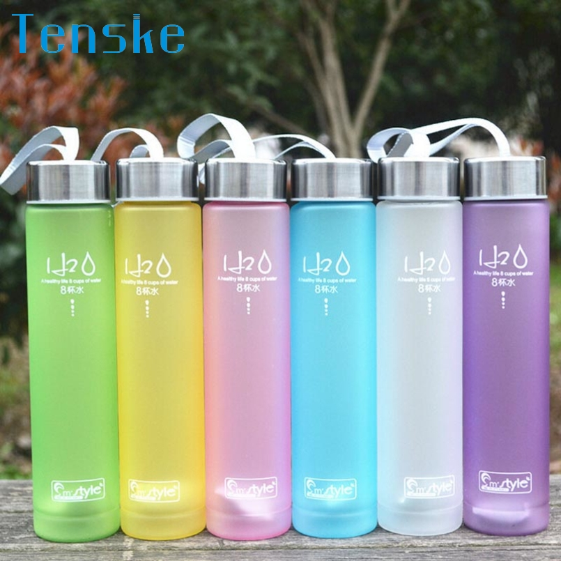 Tenske Top Grand Sport Water Bottle Infuser Tea Sport Bottle BPA My Water Bottles Scrub Portable Space Cup Bike Cycling Shaker(China (Mainland))