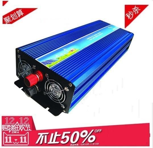 pure sine wave inverter 3000W max 6000W DC 24V AC 220V off grid power inverter! CE &ROHS standard ! Brand NEW !(China (Mainland))