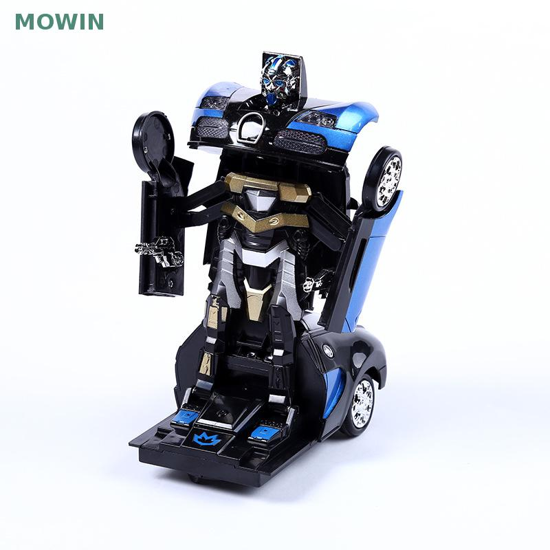 New electric automatic deformation ares electric toy car universal music lights hot style of sell like hot cakes(China (Mainland))
