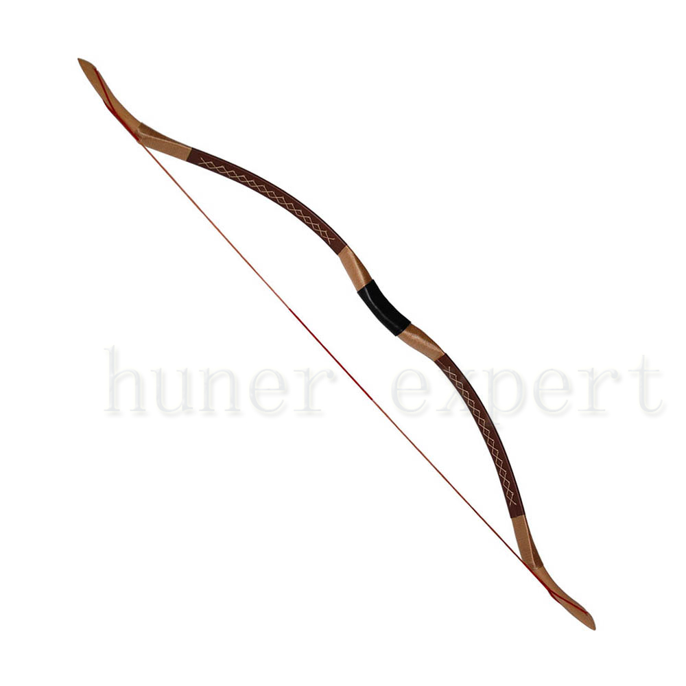 a archer hunting wooden longbow 45lbs right hand or left hand carbon fiber recurve horsebow <br><br>Aliexpress