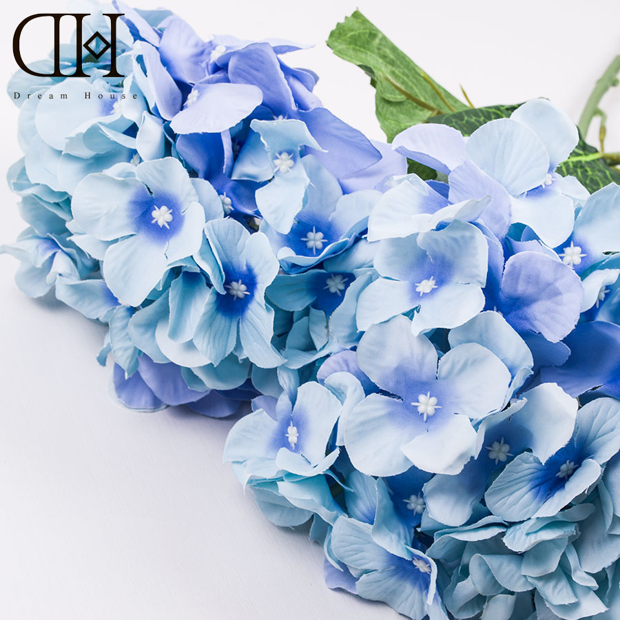 Luxury Artificial Hydrangea Flower home decoration flower Accessory for Party Home Wedding ornament christmas decoration xmas(China (Mainland))