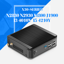 XCY New MINI PC computer X30 series Celeron N2830 N2930 J1800 dual core with wifi embedded computer linux server thin client
