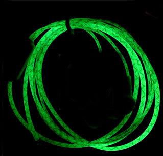 Гаджет  Hot Glow In The Dark Headphones Cool  Earphone Luminous Neon Headset With Microphone Night Lighting For iPhone Samsung Xiaomi None Бытовая электроника