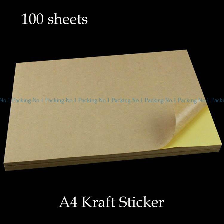 Buy 10 60gsm A4 Brown Munken paper Protect Eyesight Wood