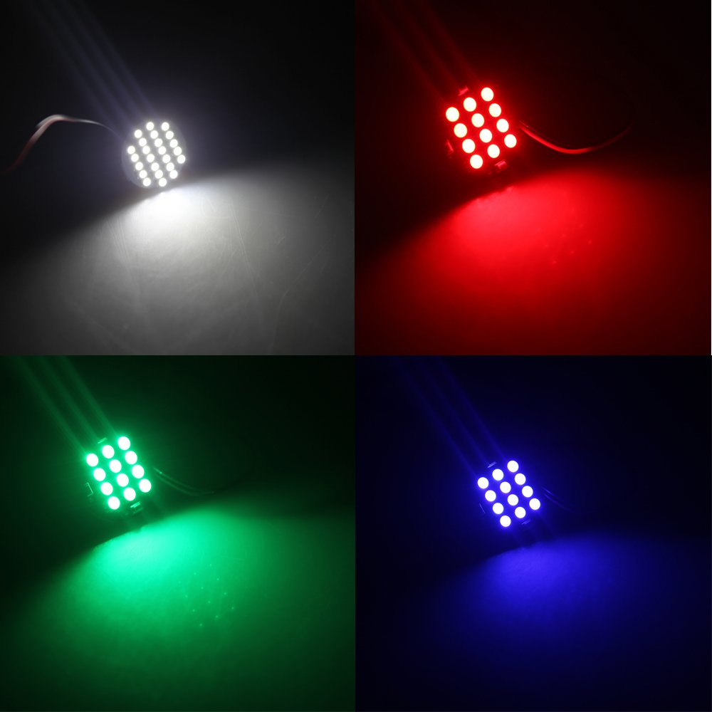 TOOGOO(R)5pcs( 12 LED Night Light Changing Multicolor for DJI Phantom F450 F550 w/ Mucilage Glue and Connecting(China (Mainland))