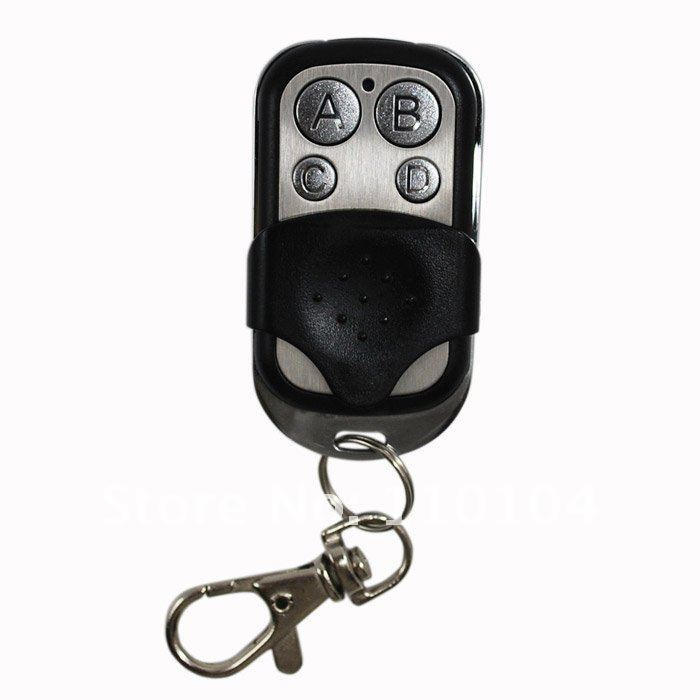 cheap Free shipping universal remote control, 4-channel cloning garage door remote control transmitter duplicator 433.92MHz(China (Mainland))