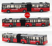 1PCS Toy Vehicles German SIKU double articulated bus alloy model toys Children Toy Bus baby toy gifts(China (Mainland))