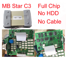 Top Quality MB Star C3 MULTIPLEXER Without mb star c3 software Auto Diagnostic tool MB C3 Engine Analyzer without cables(China (Mainland))