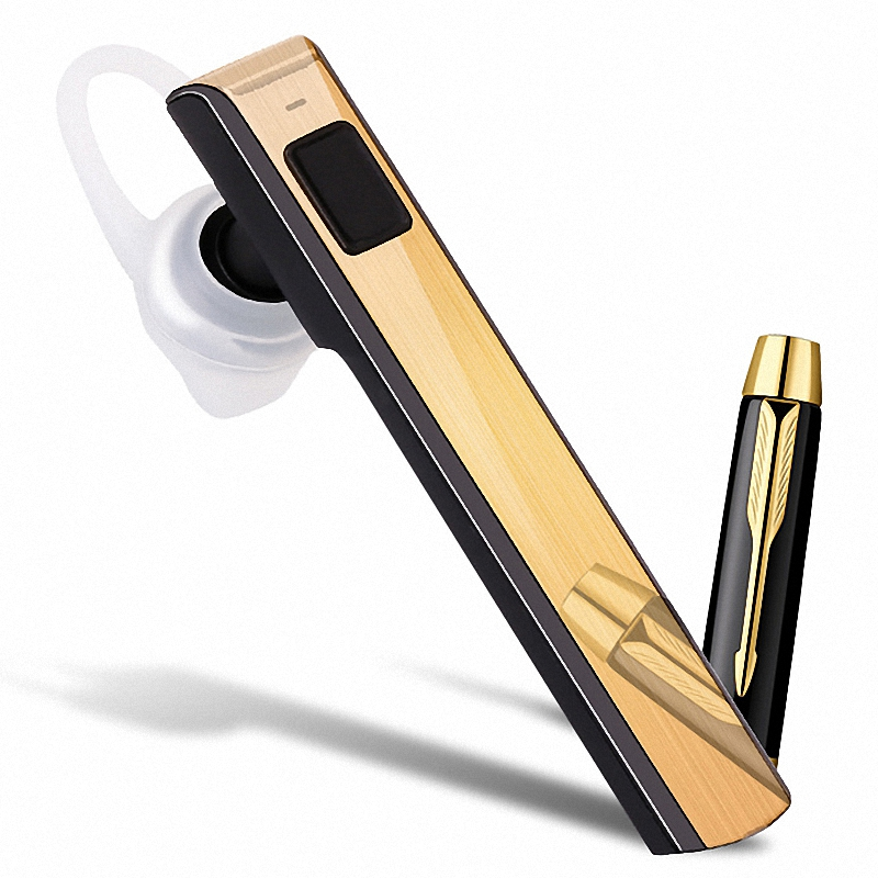 Business Universal Piano Lacquer Bluetooth Headphone Wireless Bluetooth Headset Earphones for Apple iPhone 6 Samsung all Device(China (Mainland))