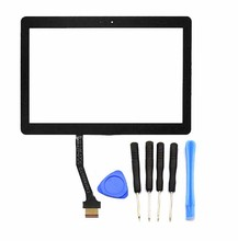 For Samsung Galaxy Tab 2 II 10.1 P5100 P5110 Rev01 Touch Screen Digitizer Glass Lens Replacement Free tools