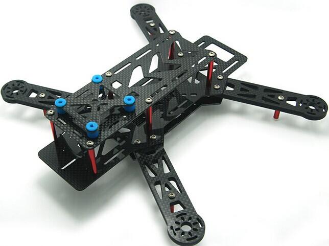 NEW Blackout QAV250 Carbon Fiber Mini 250 FPV Quadcopter Frame (Unassembled) - Paul Tsui's store