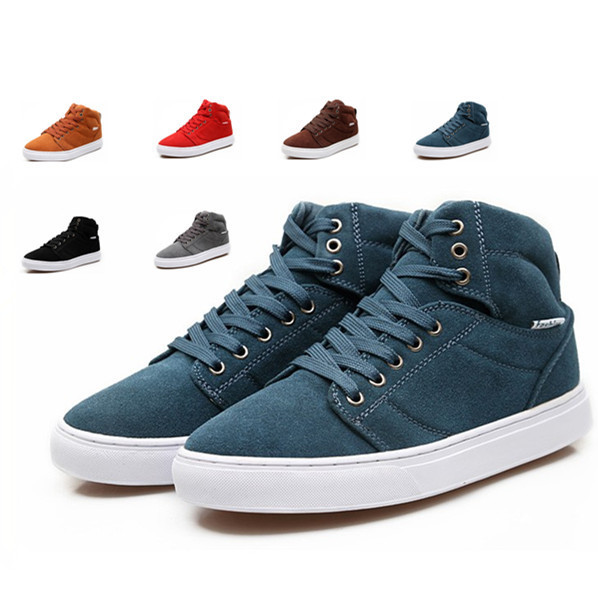 Brand New 2014 Men's Women's sneakers fashion high help canvas sneakers for women men Big Size Lace sport shoes running shoes