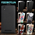 Factory direct For Prestigio Wize N3 NX3 3507 DUO Cartoon Painting vertical phone cover bag flip