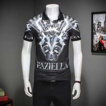 Качество Мода М-3XL 2017 Летом С Коротким Рукавом Polo Рубашка Мужчины Бизнес Повседневная Мужская Polo Рубашки Camisa Polo Мужской Поло Homme(China (Mainland))