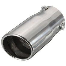 Excellent Quality Universal Stainless Steel Car Auto Exhaust Tail Pipe Tip Trim Muffler Plain Top/Bevel Connecti Hot Sale(China (Mainland))